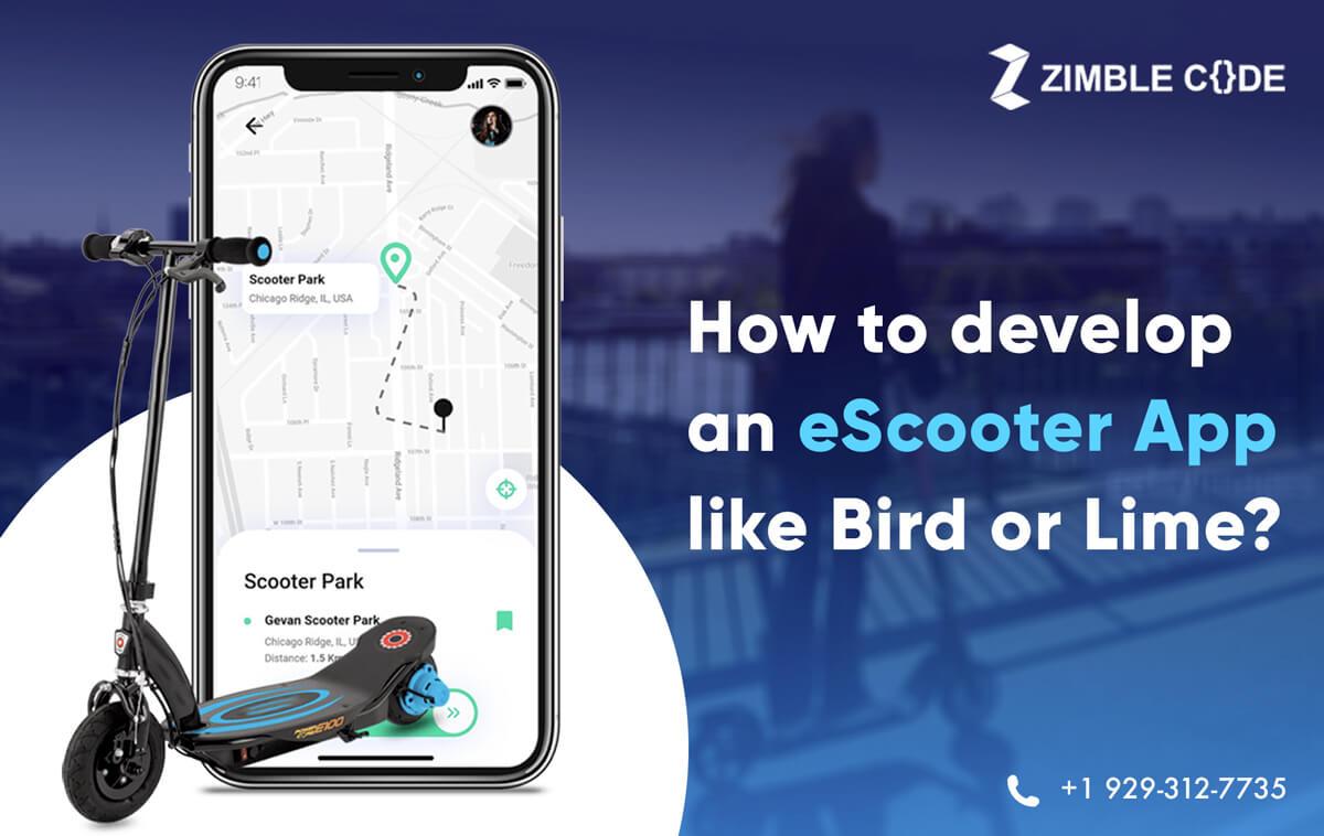 develop an eScooter App